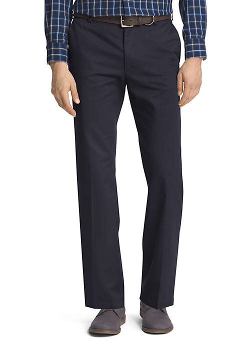 Slim Fit American Chino Flat Front Wrinkle-Free Pants