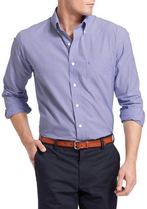 IZOD Big & Tall Advantage Performance Button-Up Shirt