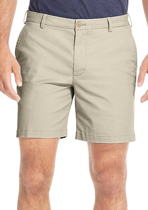IZOD 7 in Saltwater Stretch Chino Shorts