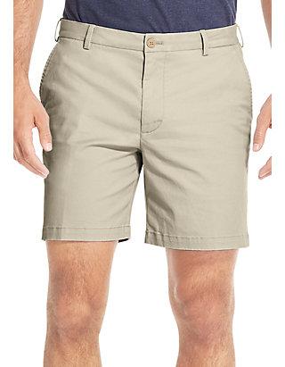 High Rise IZOD Mens Size 38 Flat Front Cargo Shorts