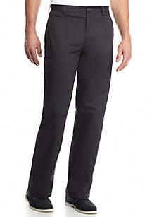 Big & Tall American Chino Comfort Fit Flat Front Non-Iron Pants