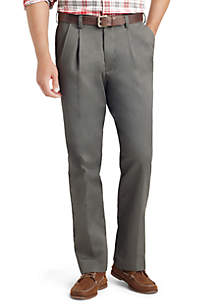 Big & Tall American Chino Comfort Fit Pleated Non-Iron Pants
