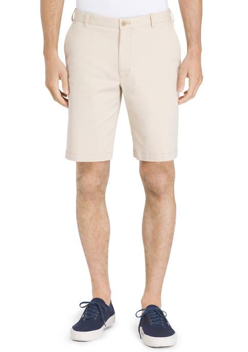 IZOD Big & Tall Saltwater Stretch Chino Shorts