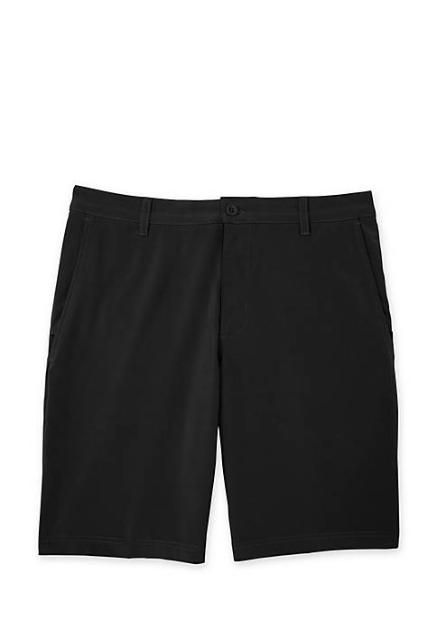 IZOD Swing Flex Flat Front Shorts