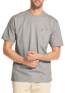 IZOD Saltwater Pocket Crewneck T-Shirt