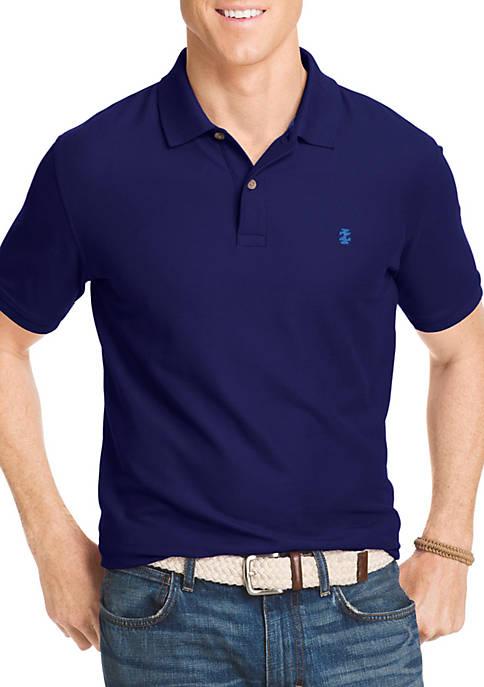 Short Sleeve Solid Stretch Advantage Pique Polo Shirt