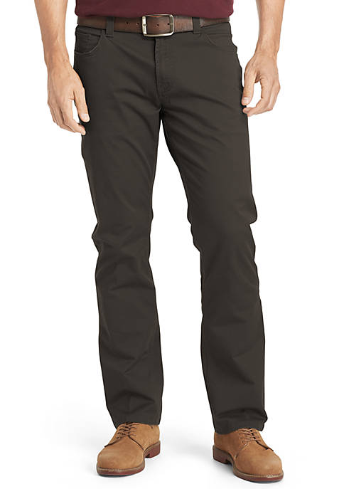 IZOD Weekender 5 Pocket Stretch Twill Pants