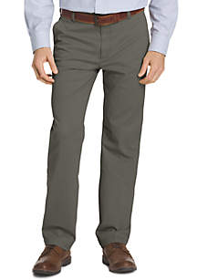 Performance Stretch Classic Fit Flat Front Pants