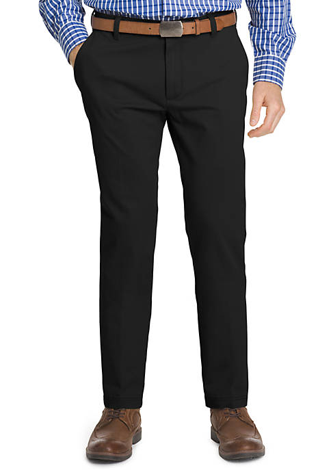 IZOD Non-Iron Performance Stretch Slim Chino Pants
