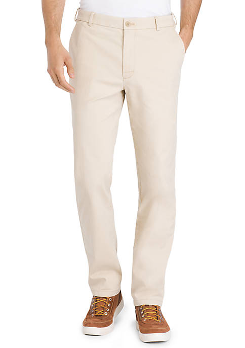IZOD Saltwater Straight Stretch Chino Pant
