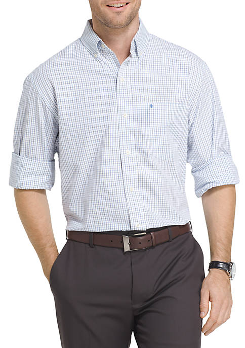 IZOD Essential Tattersall Shirt