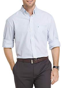 IZOD Essential Tattersall Shirt