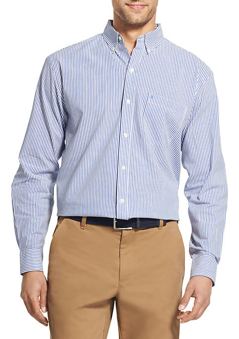 IZOD Big and Tall Premium Stretch Long Sleeve