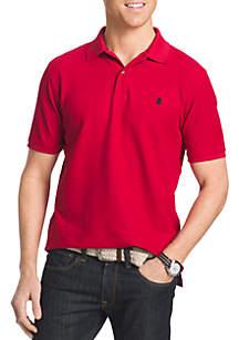 IZOD Big & Tall Advantage Core Short Sleeve Polo Shirt
