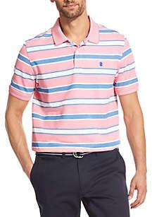 IZOD Advantage Performance Striped Polo Shirt
