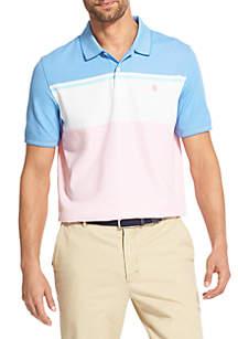 IZOD Advantage Performance Slim Colorblock Polo Shirt