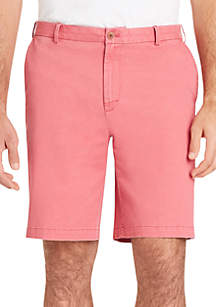 IZOD 9.5 in Saltwater Stretch Slim Chino Shorts