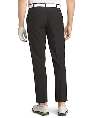 IZOD Men/'s SwingFlex Straight Fit Pants Grey 34X34