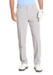 Golf Swing Flex Straight Fit Flat Front Pants