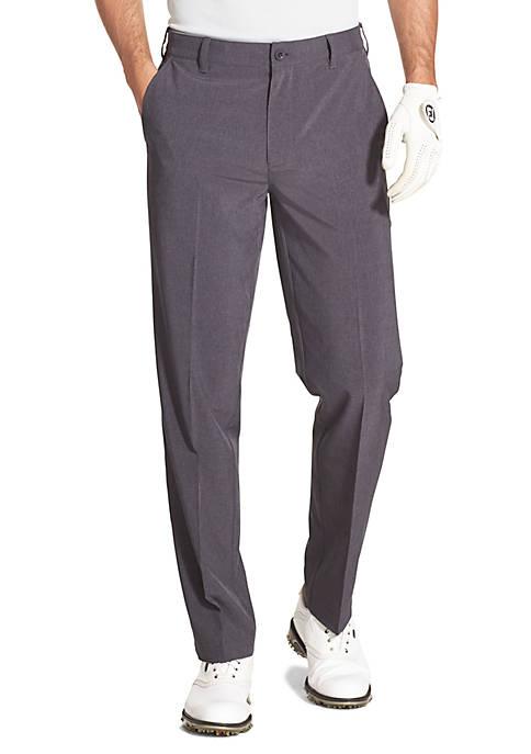 IZOD Golf Swing Flex Straight Fit Flat Front