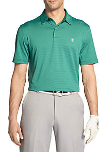 Short Sleeve Greenie Stripe Polo
