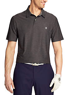 IZOD Short Sleeve Title Holder Polo