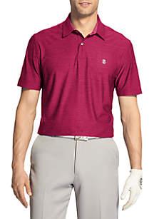 IZOD Short Sleeve Title Holder Polo