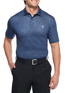 Short Sleeve Showman Printed Polo