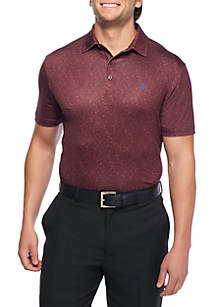 IZOD Short Sleeve Showman Printed Polo