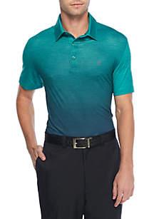 Short Sleeve Golf Sport Printed Polo