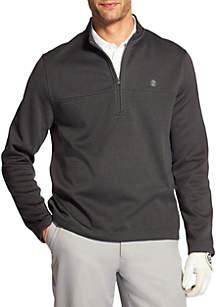 1/4 Zip Long Sleeve Hydra Shield Stripe Pullover