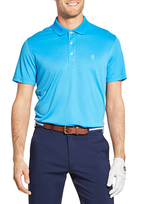 IZOD Golf Grid Polo Shirt
