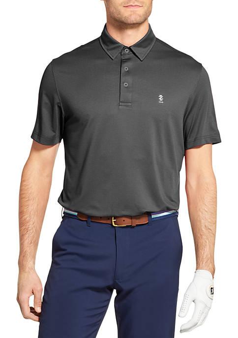 Golf Fairway Gingham Polo Shirt