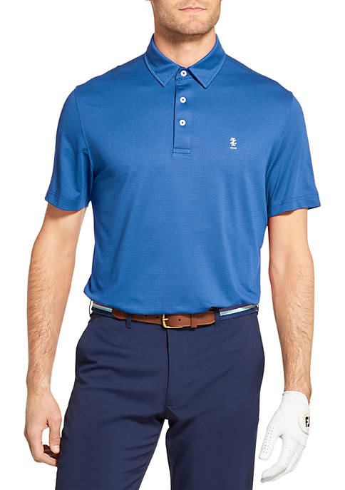 IZOD Golf Fairway Gingham Polo Shirt