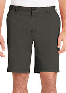 IZOD 9.5 in Flat Front Stretch Shorts
