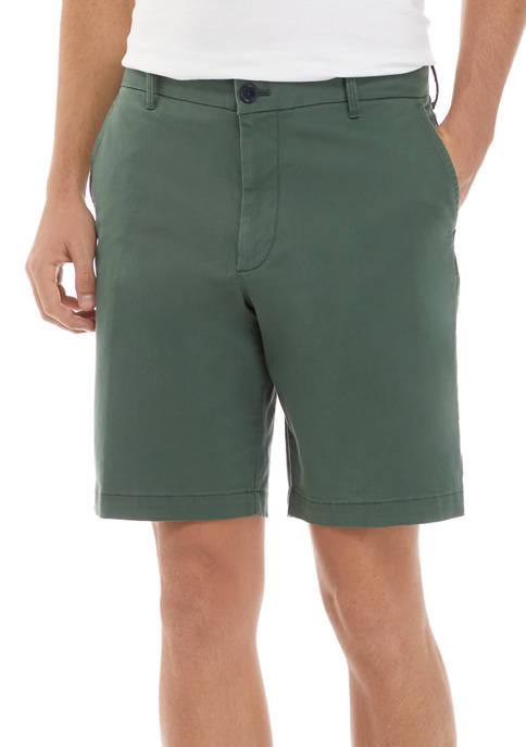 IZOD 7 Inch Saltwater Stretch Chino Shorts