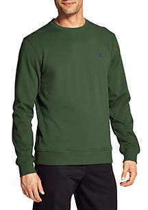 Stretch Fleece Crew Sweatshirt