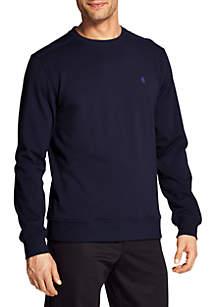 Stretch Fleece Crew Sweatshirt