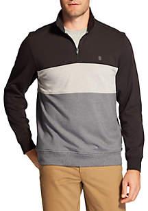 Advantage Performance Stretch Fleece Colorblock Quarter Zip