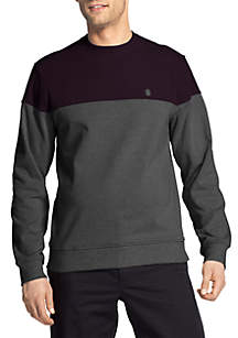 Advantage Performance Stretch Fleece Colorblock Sweatshirt
