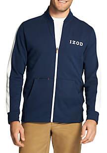 Advantage Performance Fleece Striped Jacket