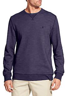 Saltwater Blues Fleece Terry Sweatshirt