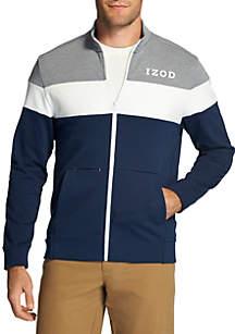 Advantage Performance Fleece Long Sleeve Track Jacket