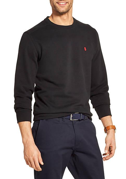 IZOD Fleece Crewneck Pullover