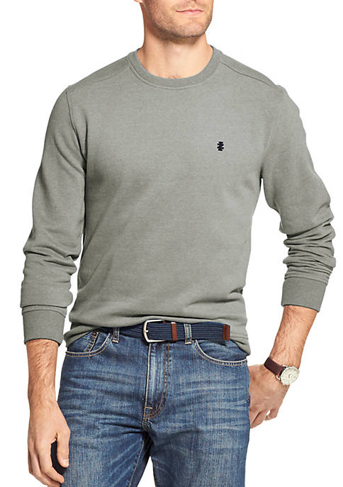 IZOD Fleece Crewneck Pullover