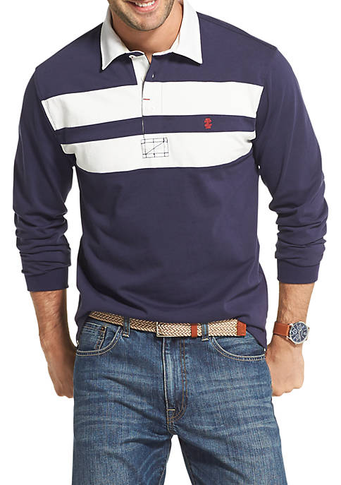 IZOD Super Soft Varsity Rugby Shirt