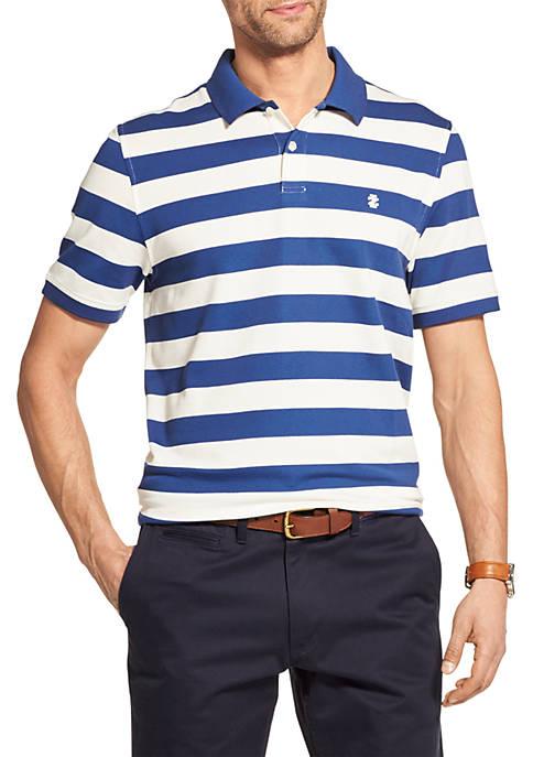 Advantage Performance Striped Polo Shirt