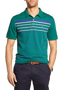 e1cfbb91f ... IZOD Advantage Performance Striped Polo Shirt