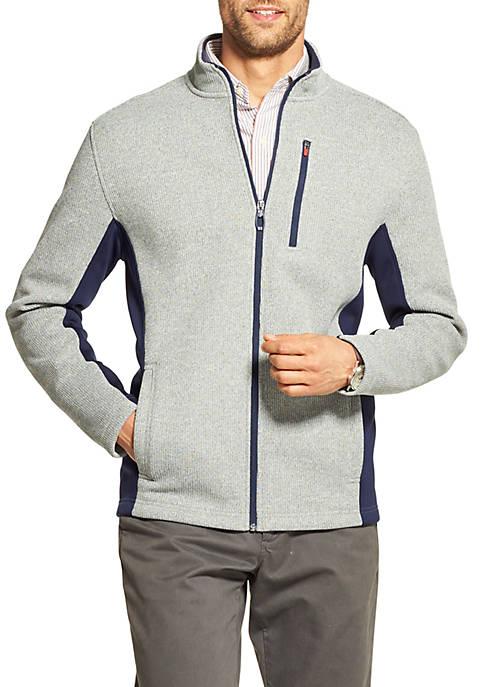 IZOD Shaker Fleece Jacket