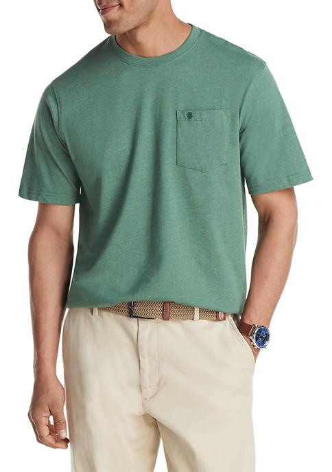 IZOD Saltwater Pocket Crew Neck T-Shirt